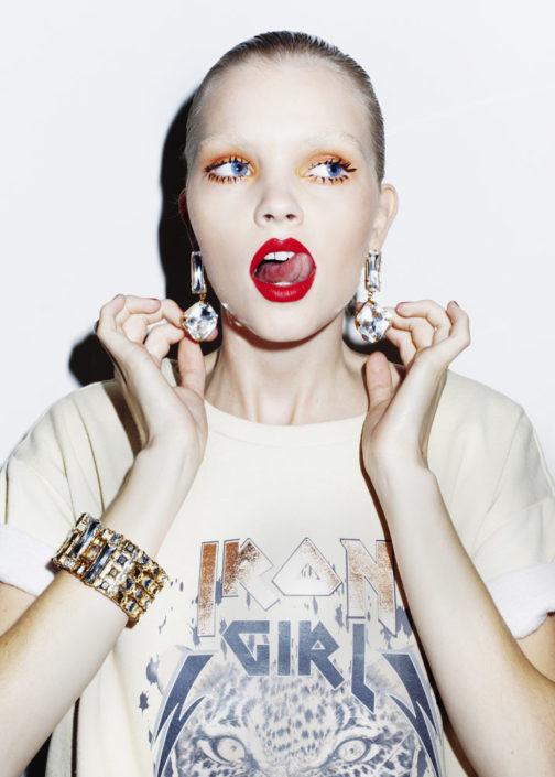 Client: Vogue.it online. Photographer: Jolijn Snijders
